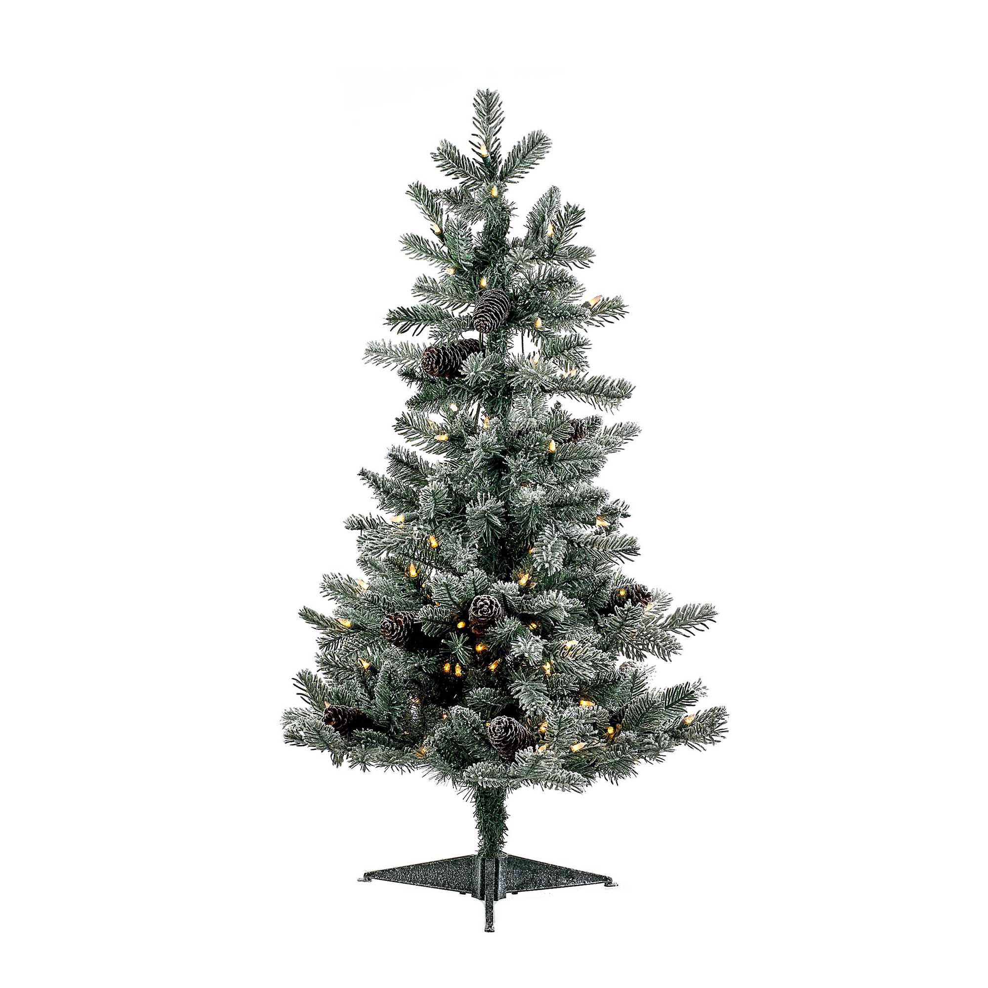 Frosted Pine with Lights, 36""