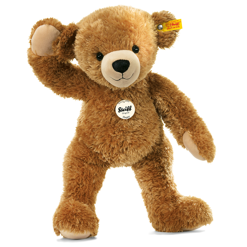 Steiff Happy Teddy Bear, 11""