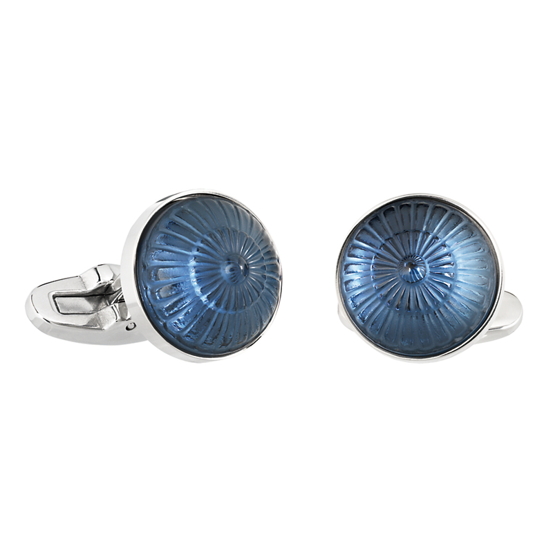 Lalique Toupie Cufflinks