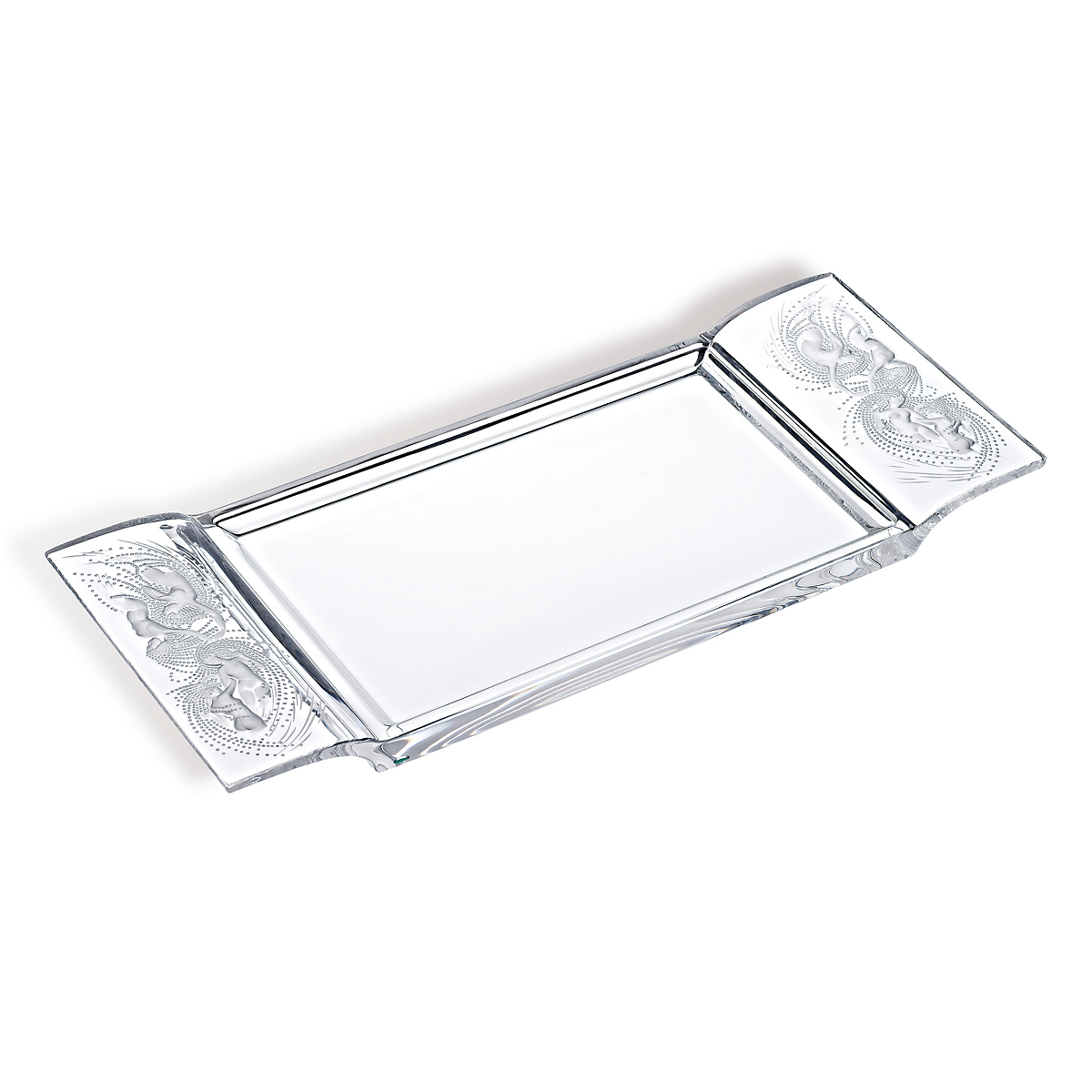 Lalique Naiades Tray, Clear