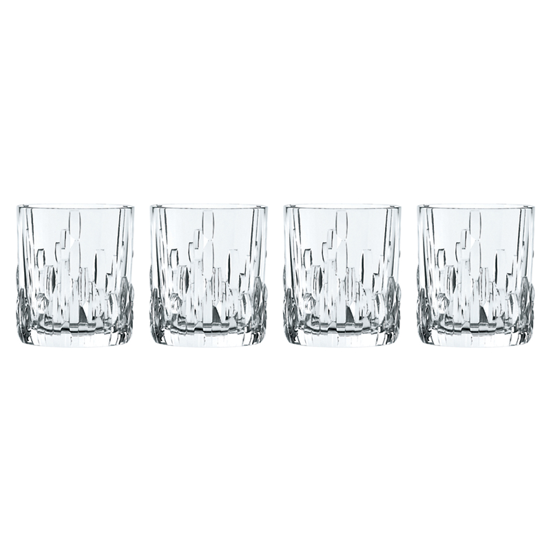 Nachtmann Shu Fa Double Old-Fashioned Glasses, Set of 4
