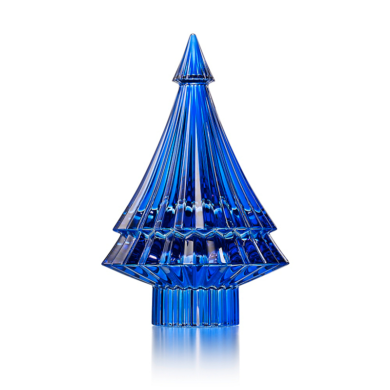 Baccarat Noel Fir Tree, Blue