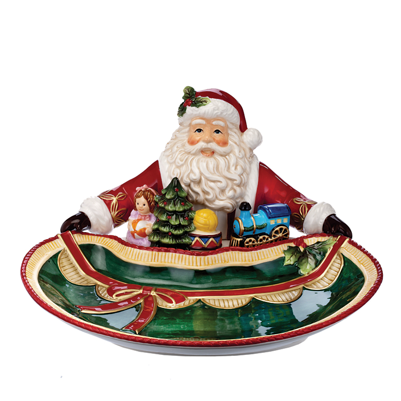 Waterford Santa & Toys Cookie Tray