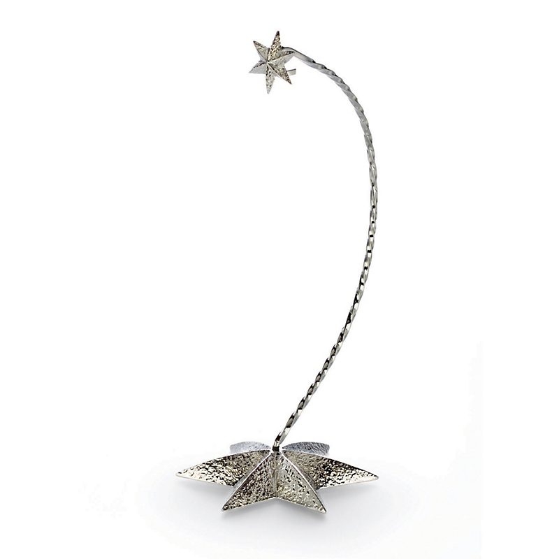 Waterford Silver Star Ornament Stand