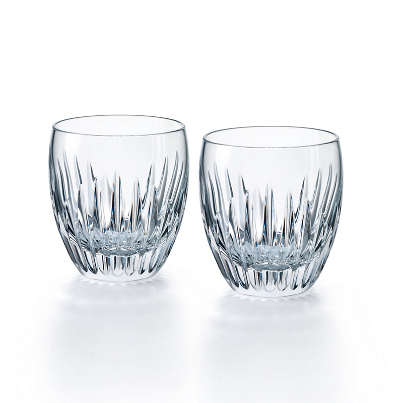 Baccarat Massena #3 Tumblers, Set of 2