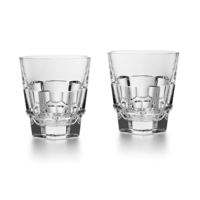 Baccarat Harcourt Abysse Straight Tumblers, Set of 2
