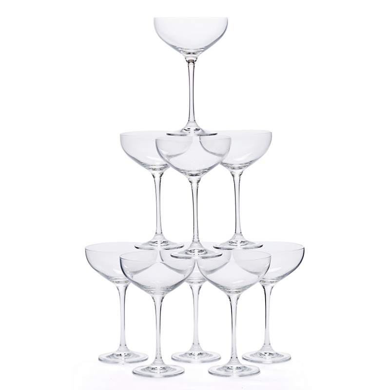 Coupe Champagne Glass Set