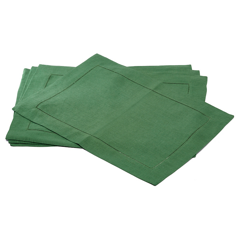 Sferra Set of 4 Festival Placemats, Emerald