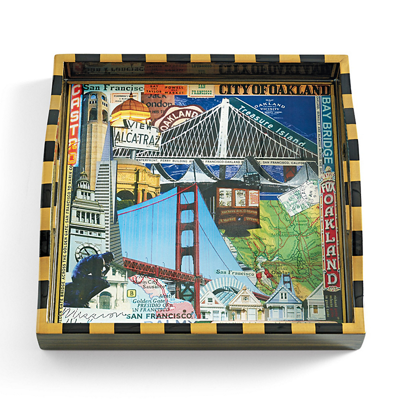 Annie Modica San Francisco Square Tray