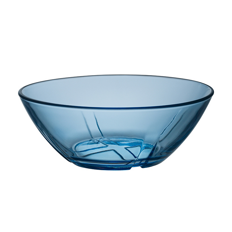 Kosta Boda Bruk Bowl, Waterblue