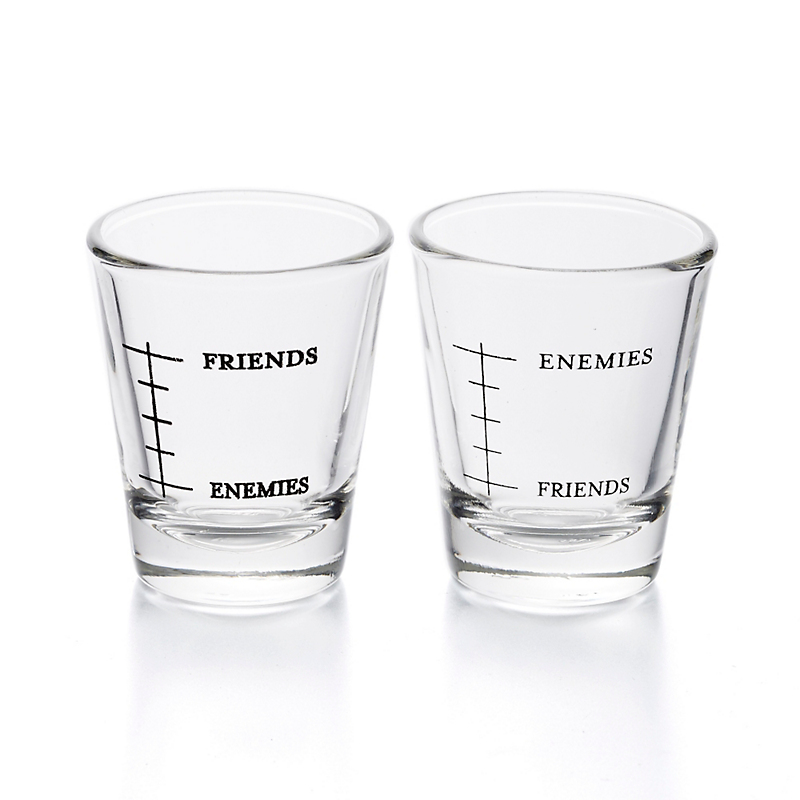 'Friends' Shot Glasses, Set of 2