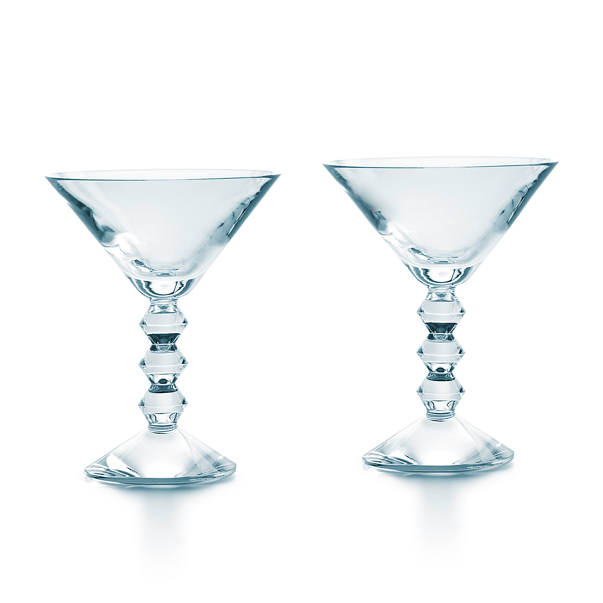Baccarat Vega Martini Glasses, Set of 2 Clear