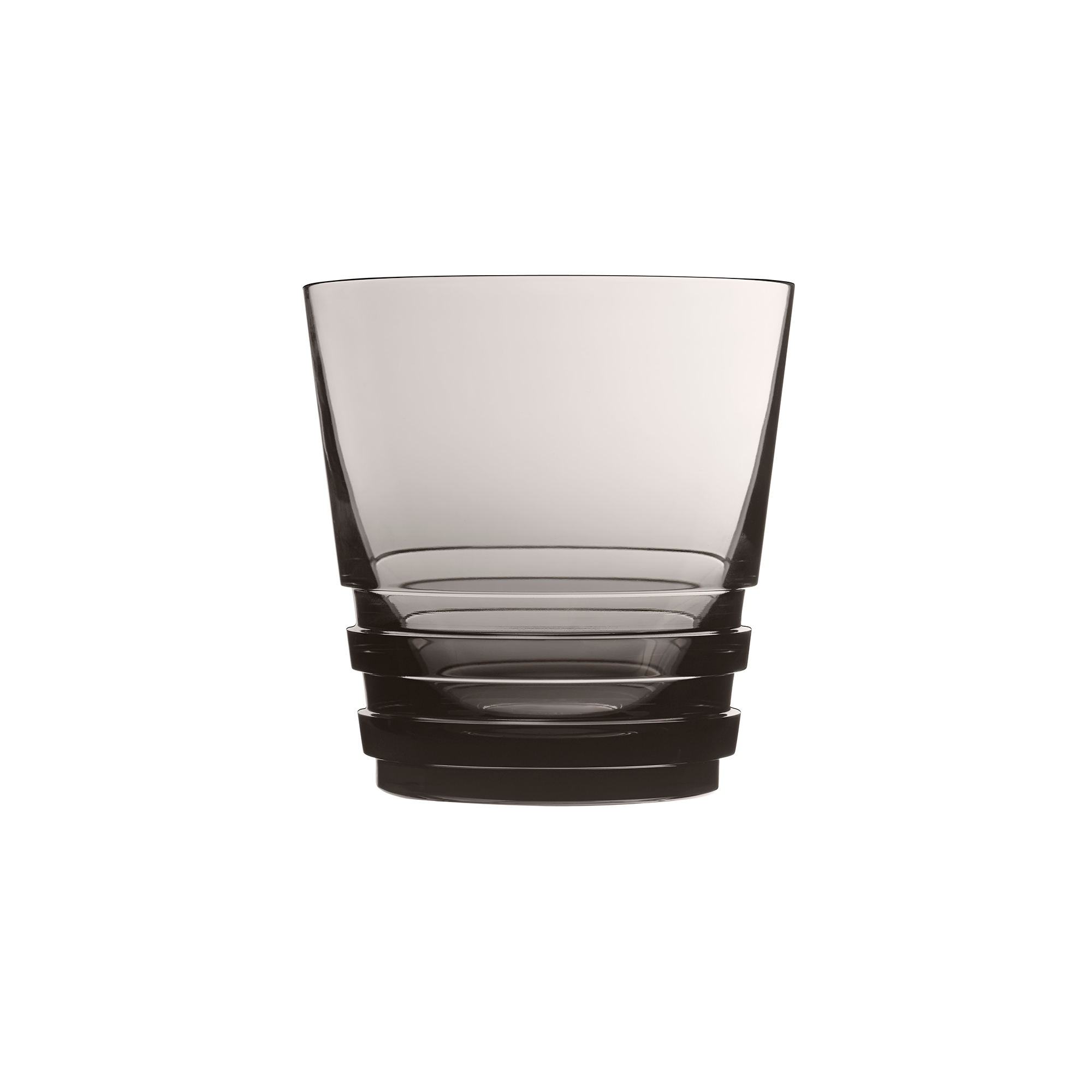 Saint-Louis Oxymore Old-Fashioned Glass, Flannel Gray