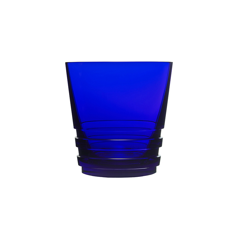 Saint-Louis Oxymore Old-Fashioned Glass, Dark Blue