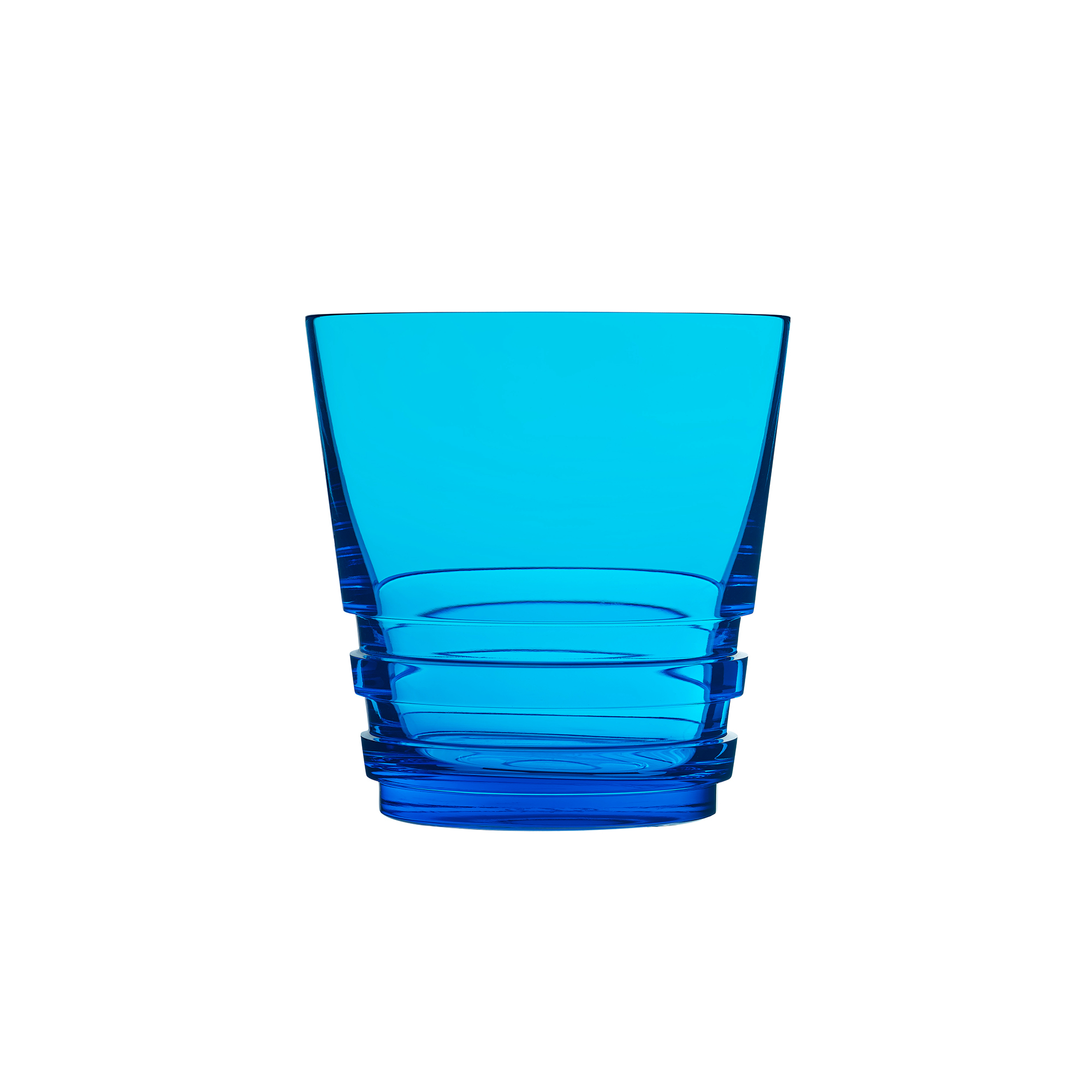Saint-Louis Oxymore Old-Fashioned Glass, Sky Blue
