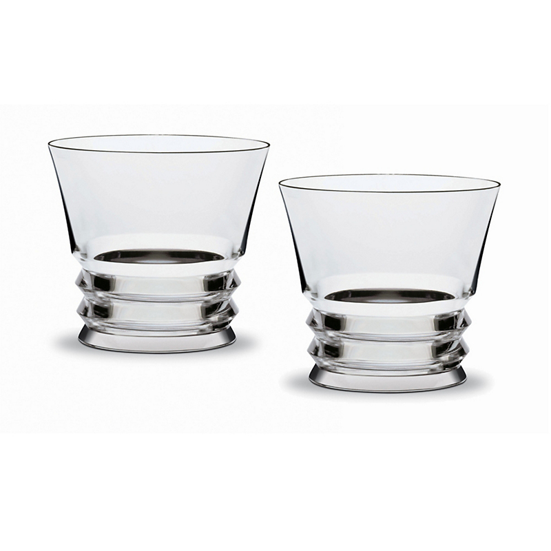 Baccarat Vega Old-Fashioned Glasses, Set of 2