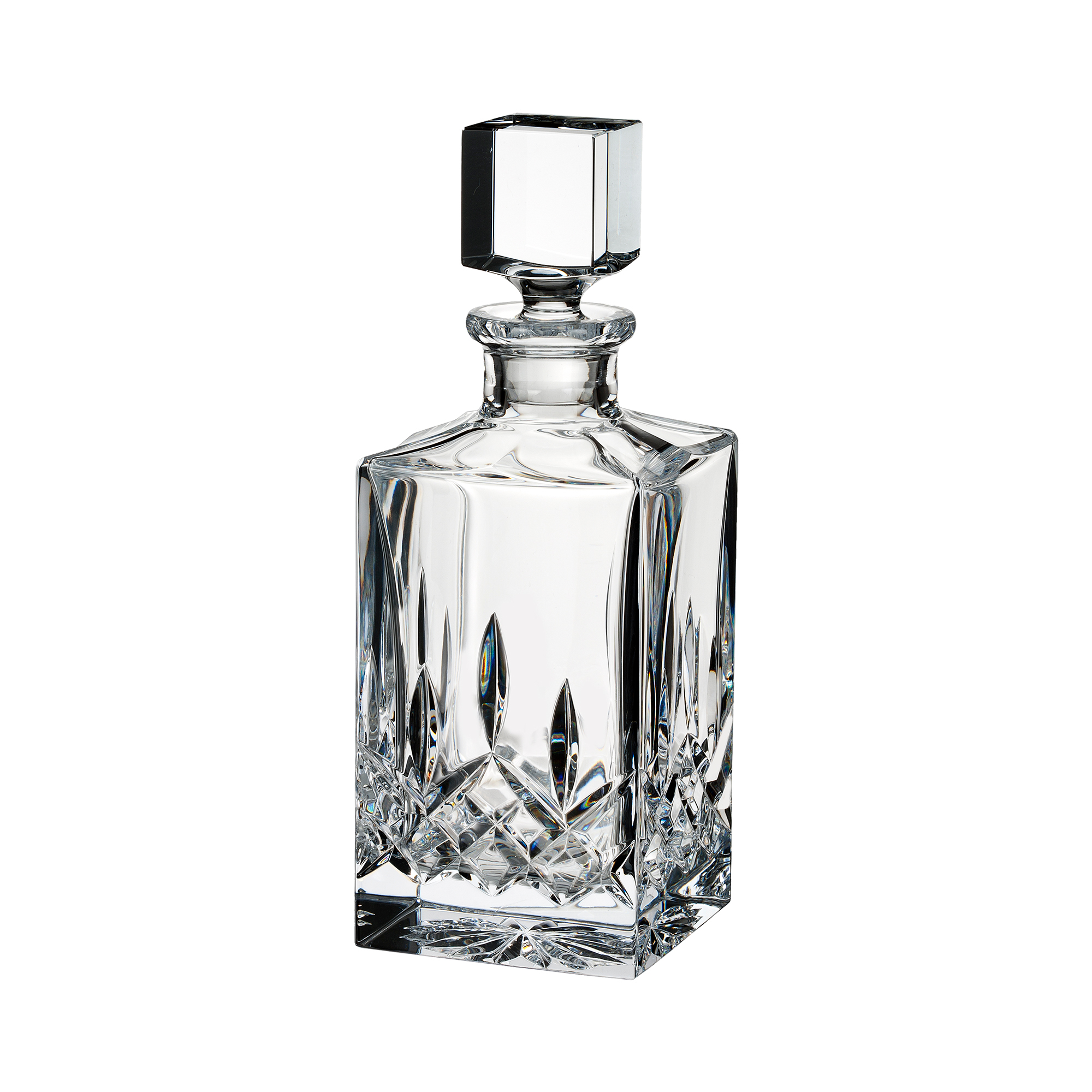 Waterford Lismore Square Decanter, Clear