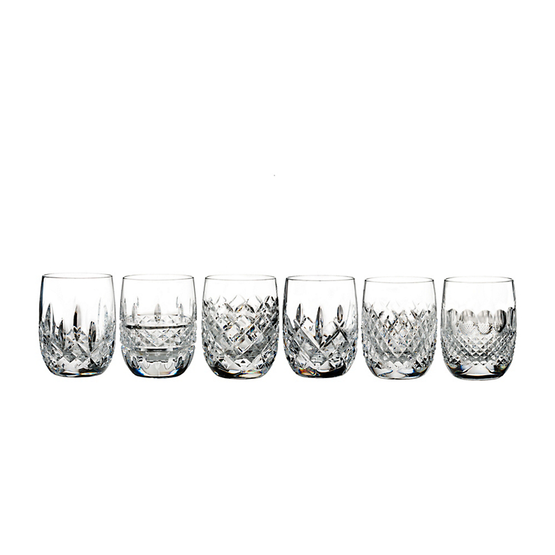 Waterford Connoisseur Rounded Tumblers, Set of 6
