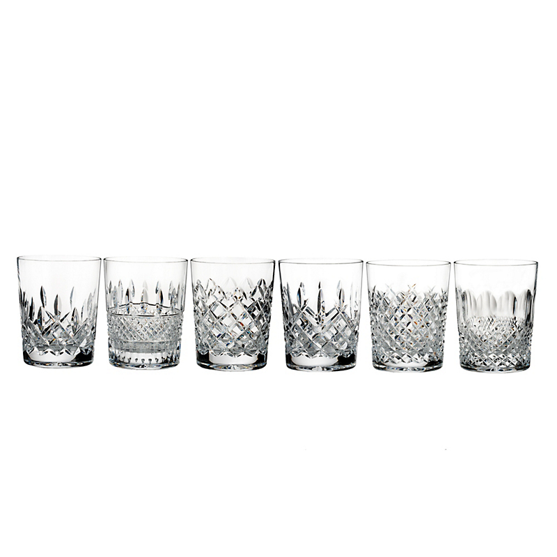 Waterford Connoisseur Double Old-Fashioned Glasses, Set of 6