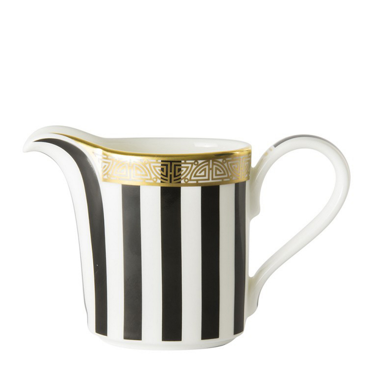 Royal Crown Derby Satori Black Creamer