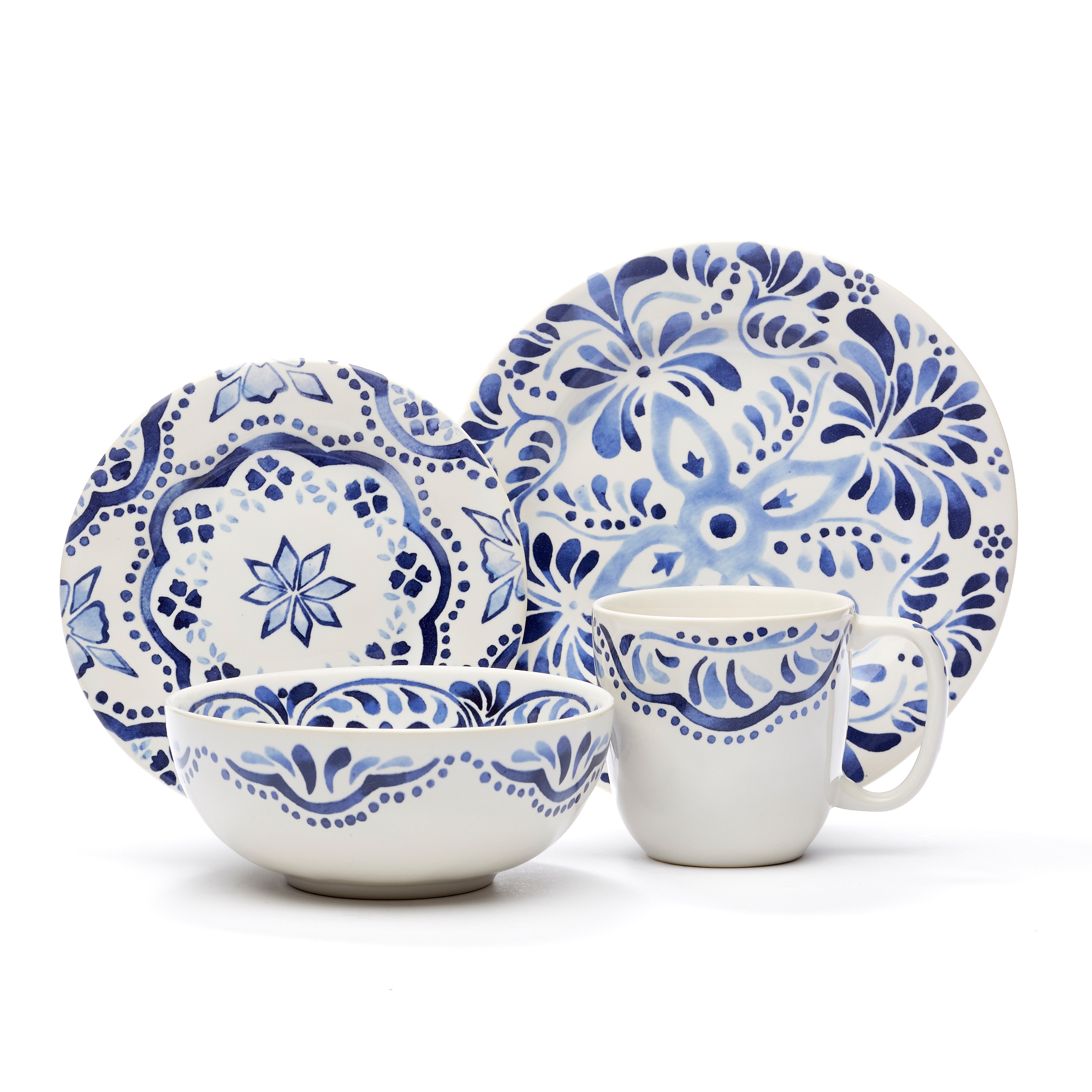 Juliska Iberian Journey Dinnerware, Indigo