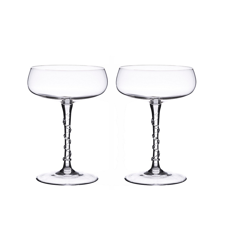 Juliska Amelia Champagne Coupes, Set of 2
