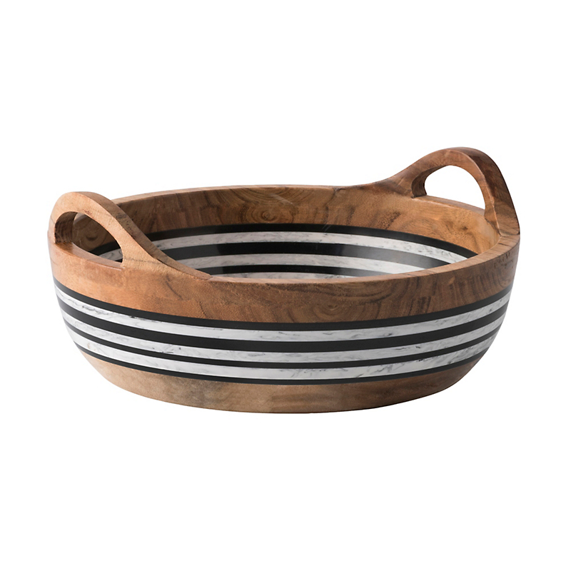 Juliska Stonewood Stripe Serving Bowl