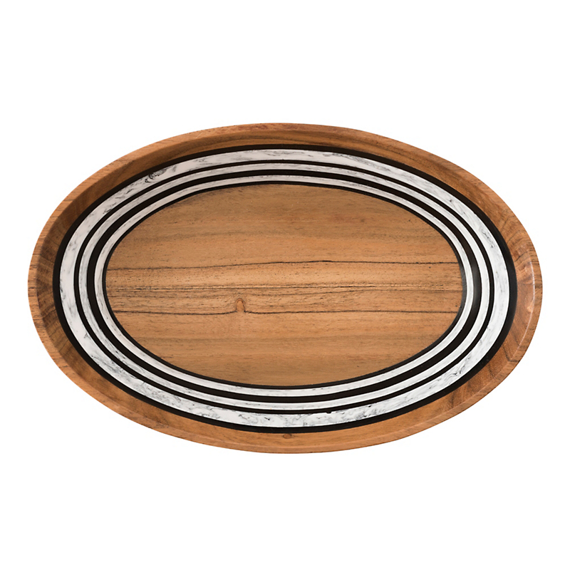 Juliska Stonewood Stripe Serving Bowl, Oval