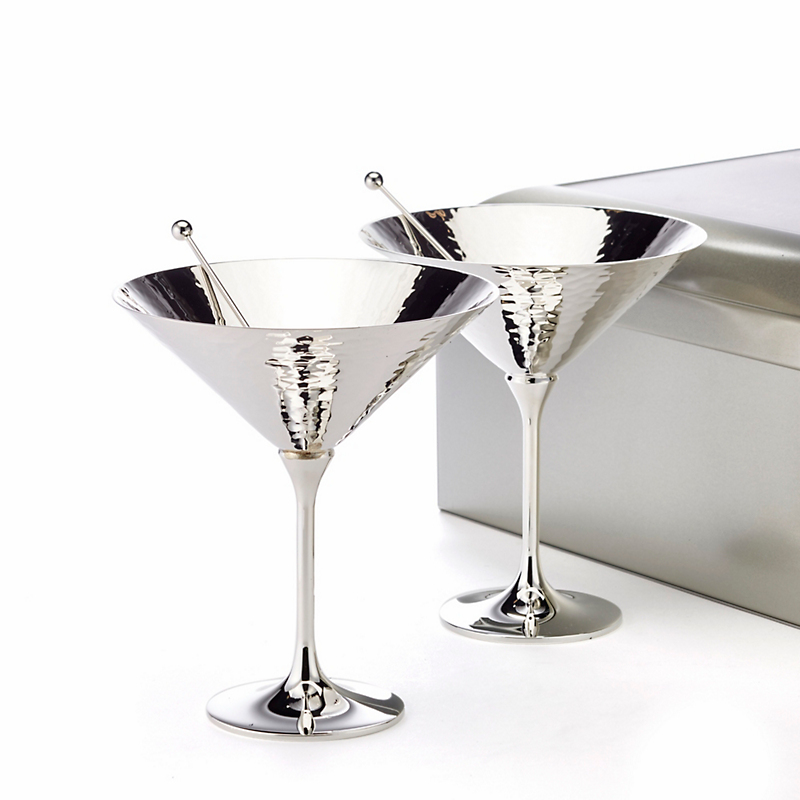 Robbe & Berking Martelé 4-Piece Cocktail Set