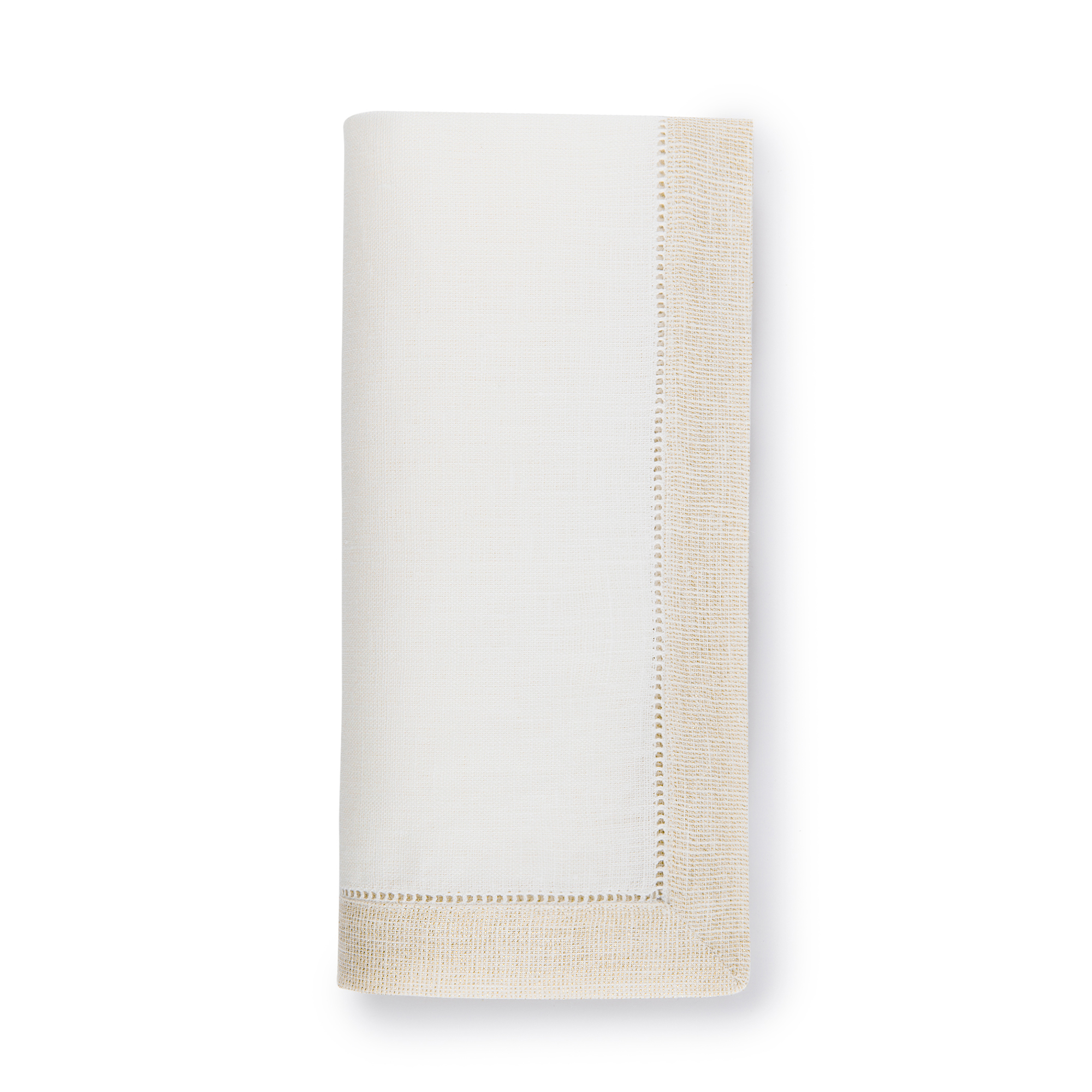 Sferra Filetto Linen Napkins, Set of 4