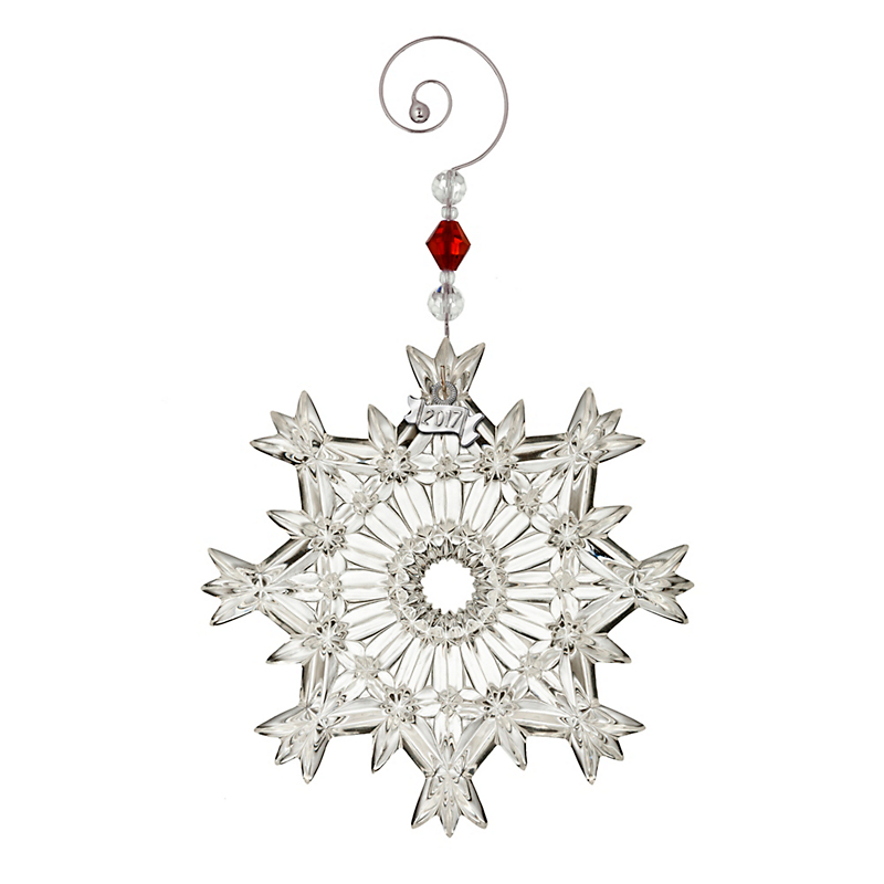 Waterford 2017 Annual Snowcrystal Ornament