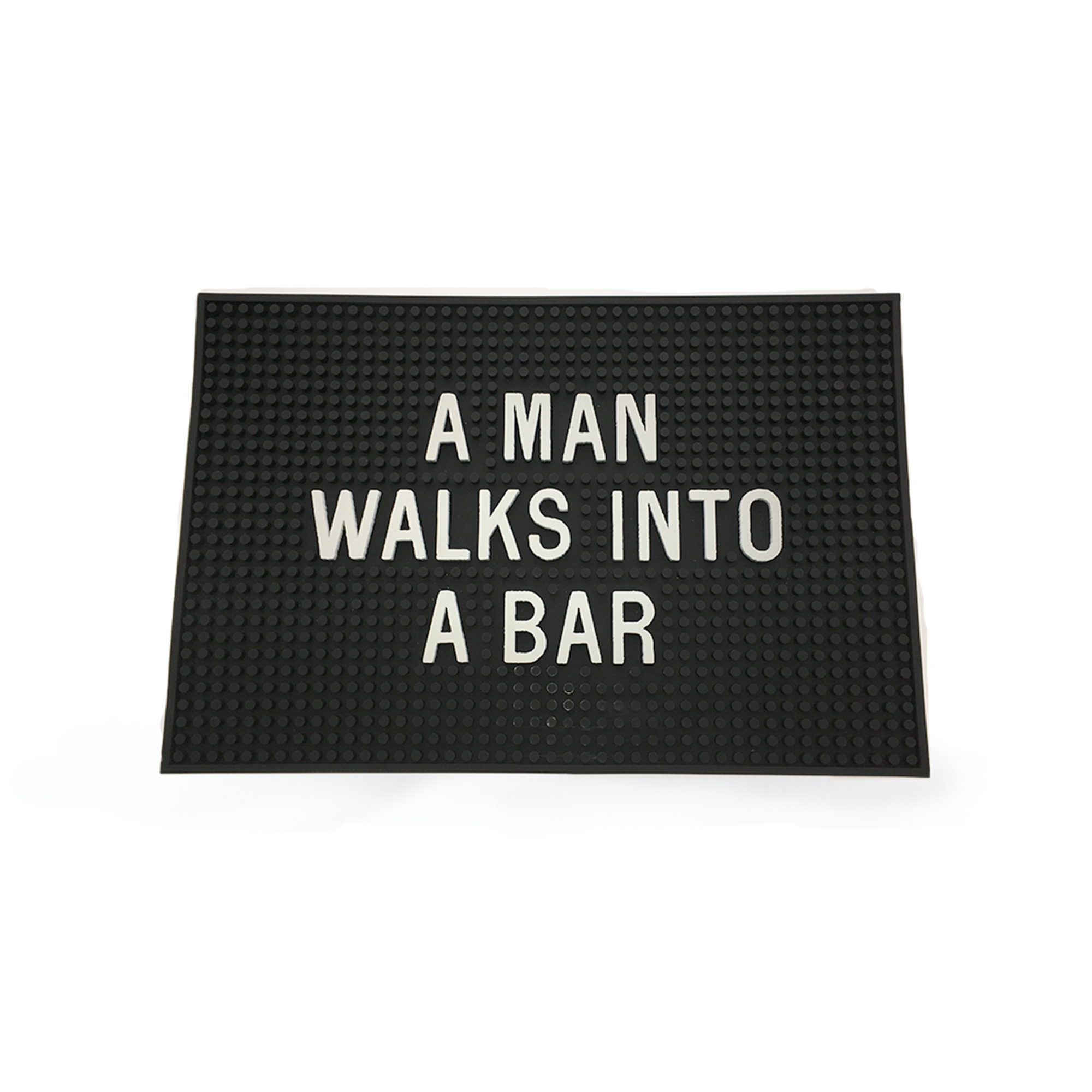A Man Walks into the Bar, Mat