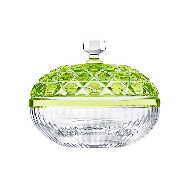 Saint-Louis Royal Box, Small Chartreuse Green