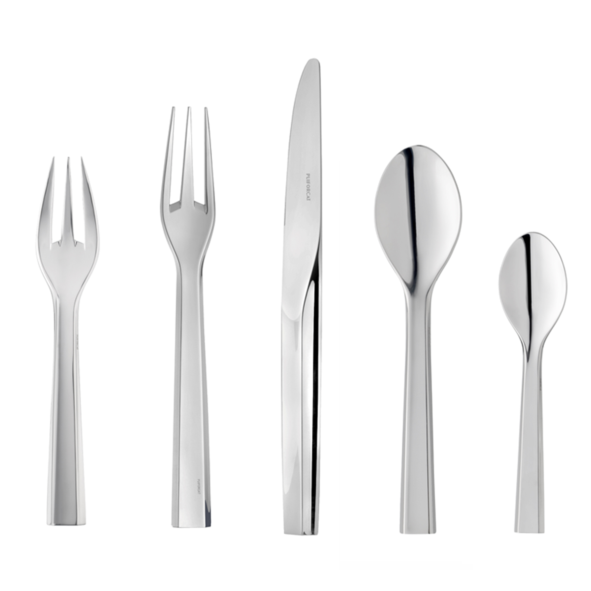 Puiforcat Zermatt 5-Piece Flatware Set