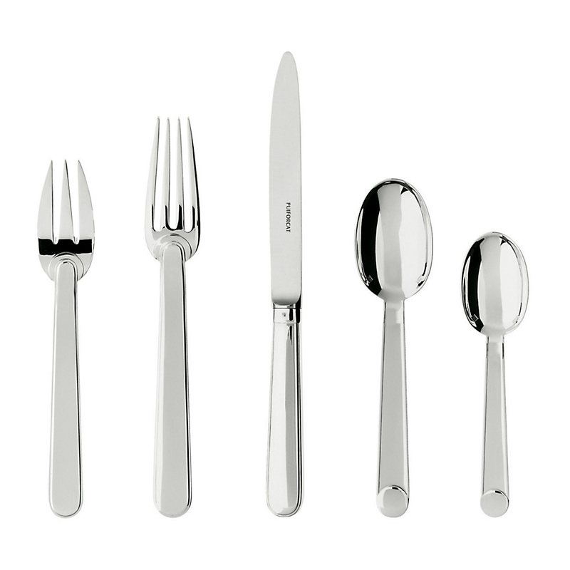 Puiforcat Normandie 5-Piece Flatware Set