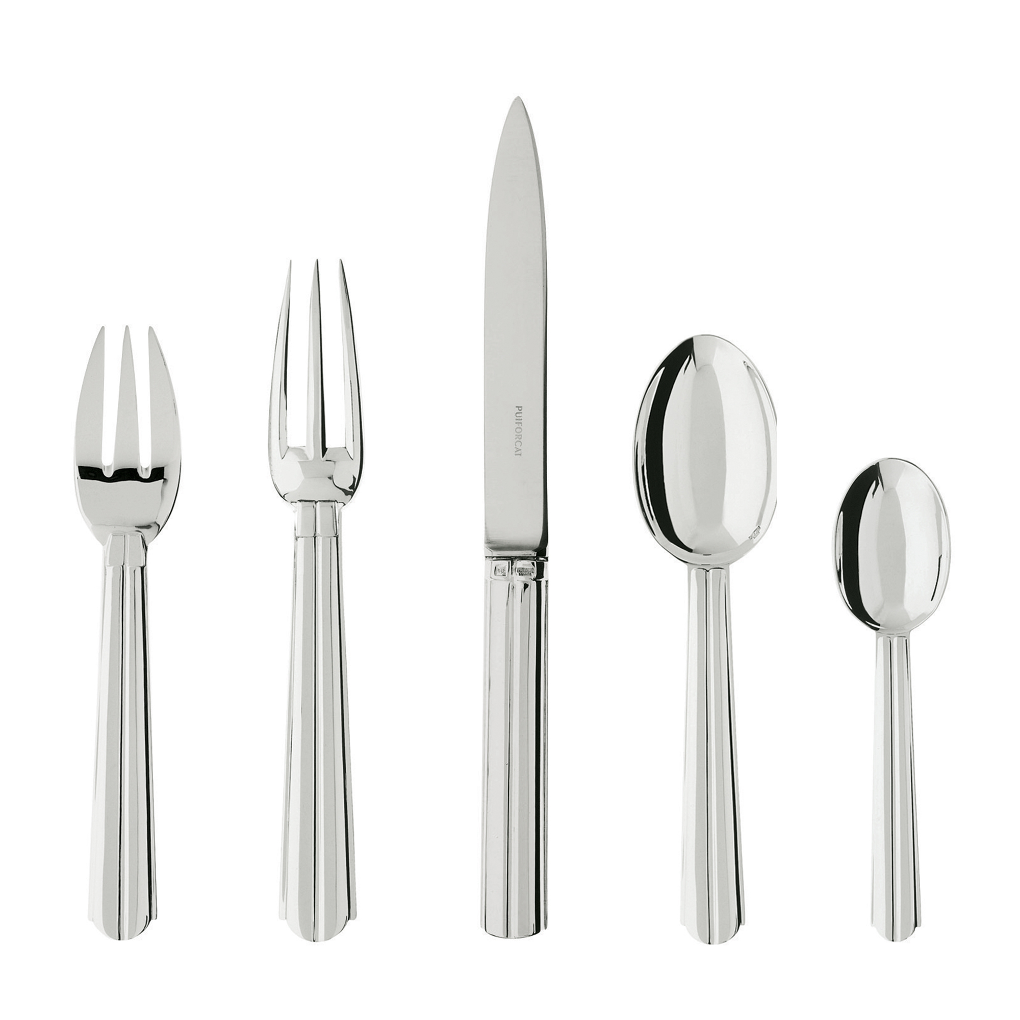 Puiforcat Chantaco 5-Piece Flatware Set