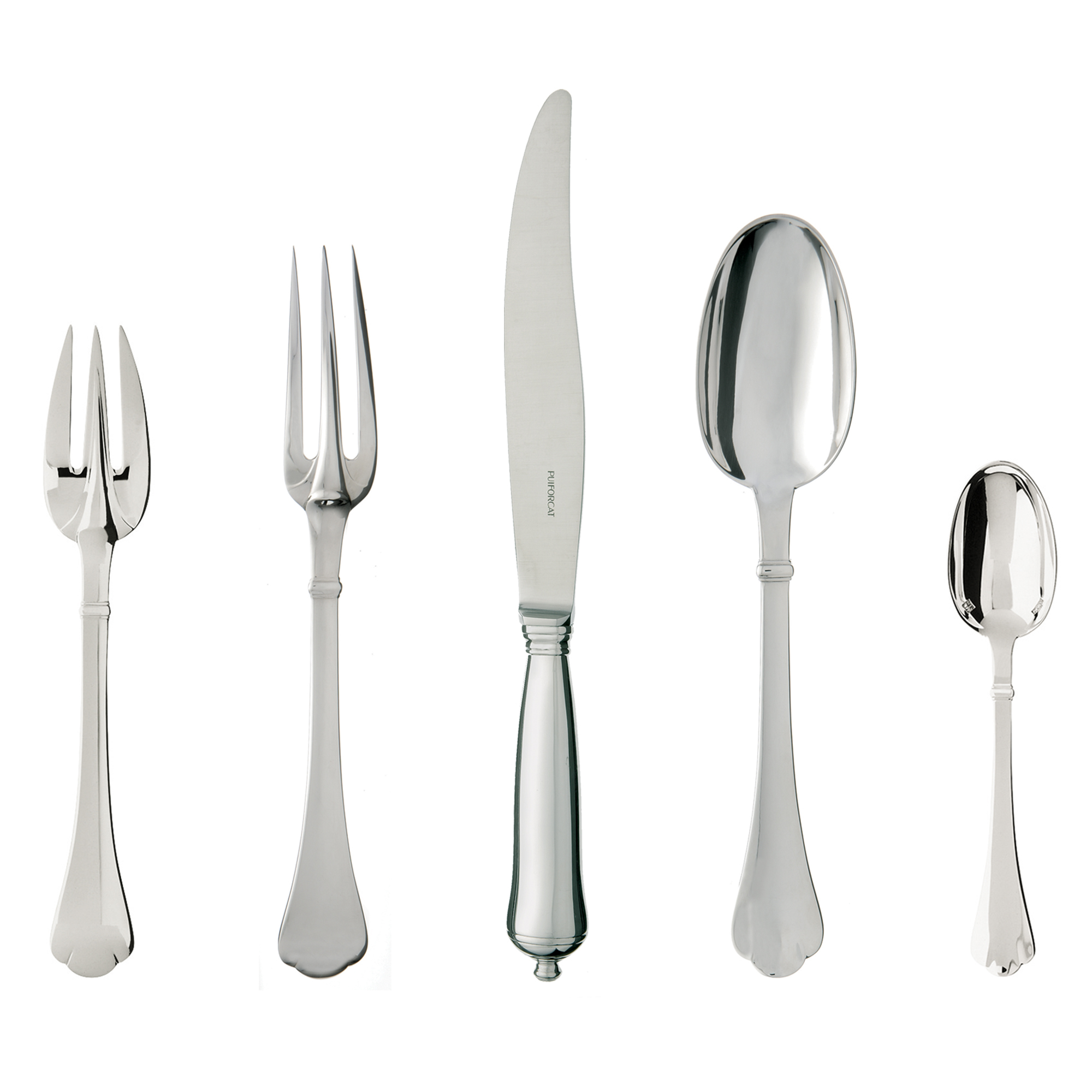 Puiforcat Cardinal 5-Piece Flatware Set