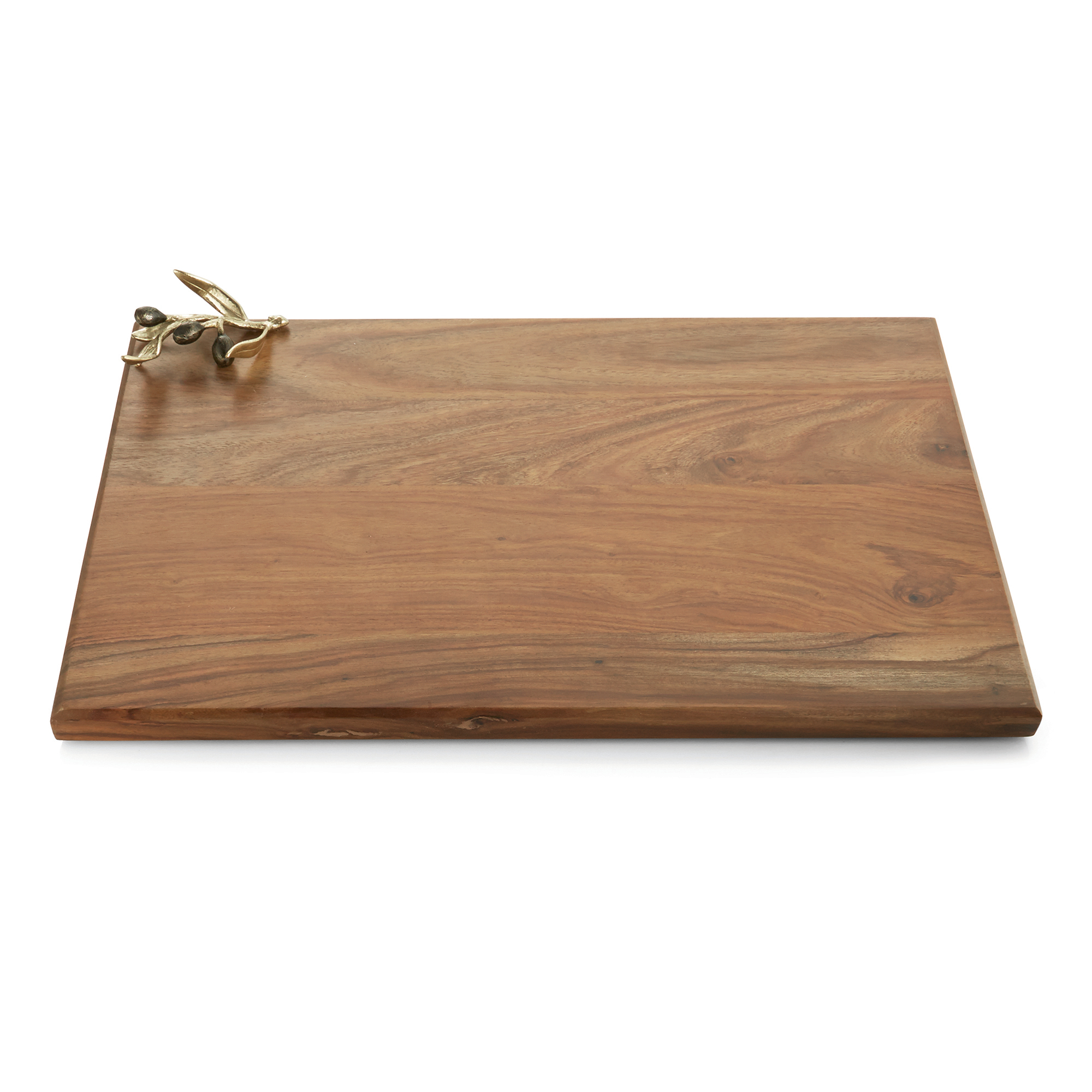 Michael Aram Olive Branch Oversize Wood Serving Board