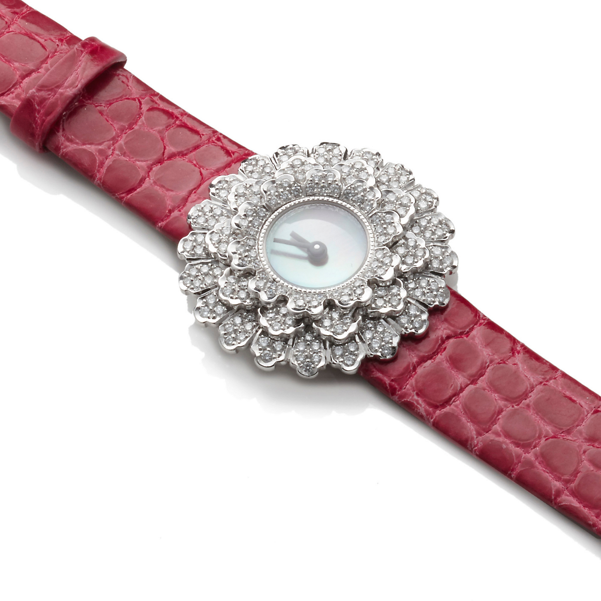 Buccellati Dahlia Diamond Watch, Pink