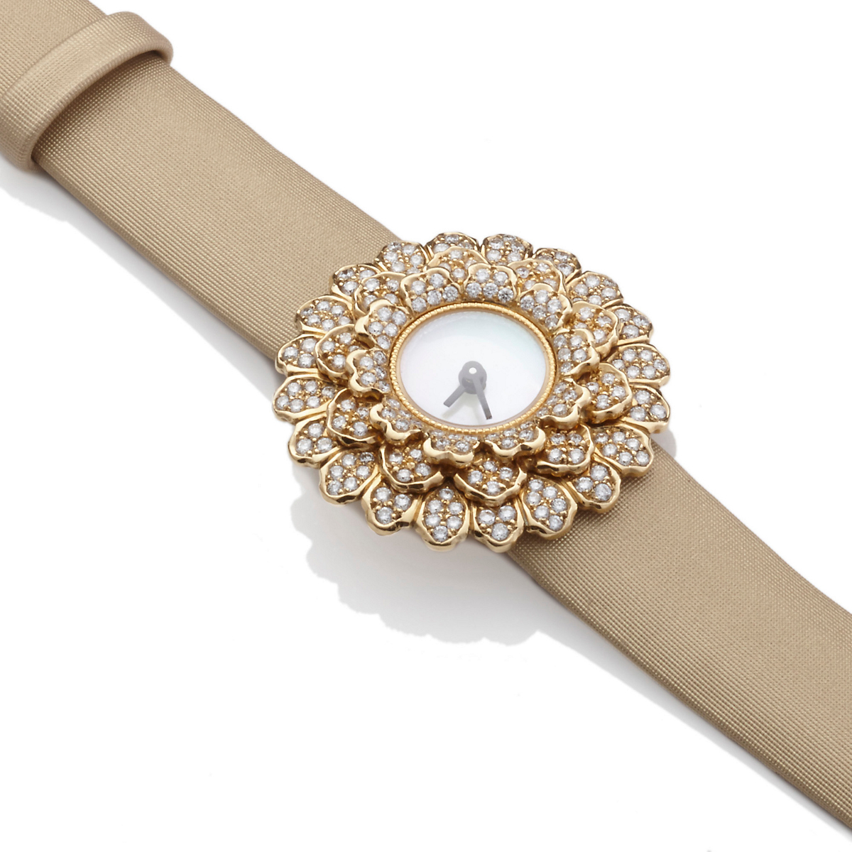 Buccellati Dahlia Diamond Watch, Sand