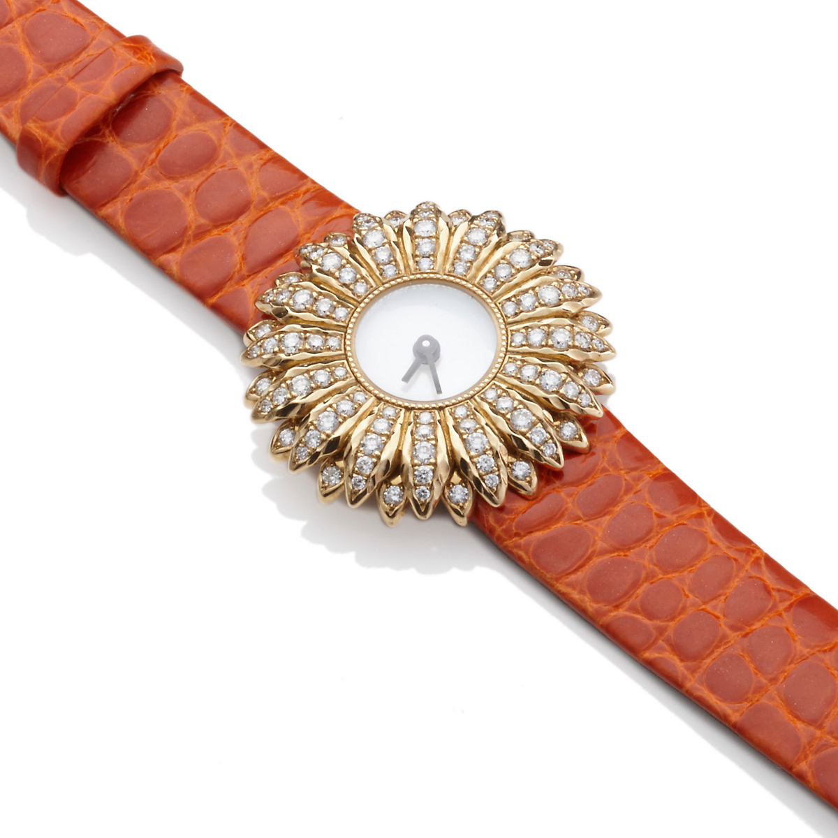 Buccellati Bellis Diamond Watch, Orange