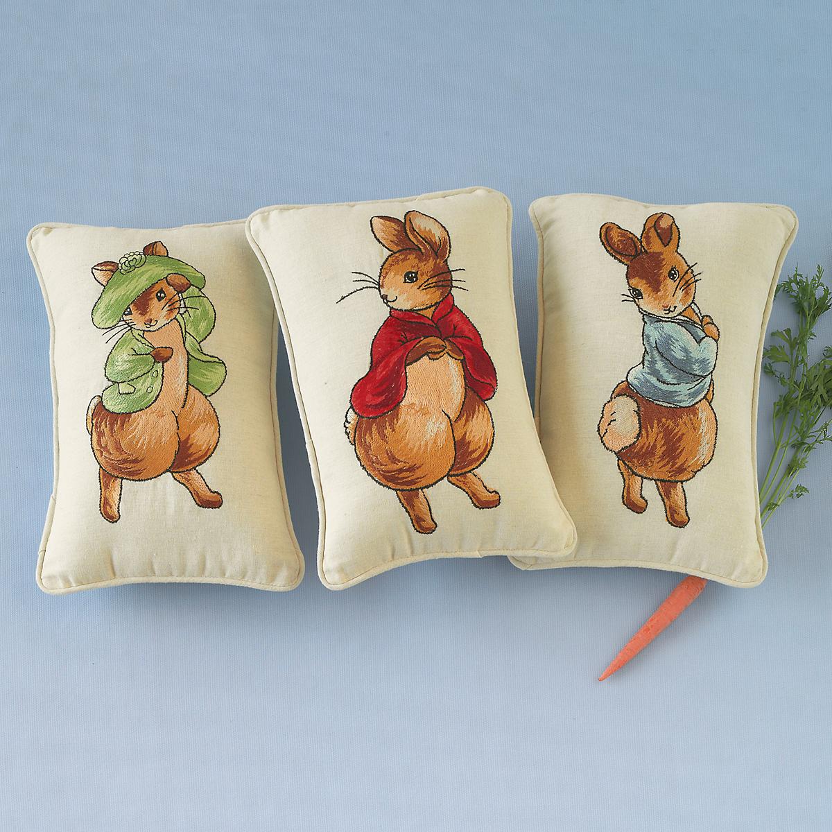 Storybook Rabbit Pillows