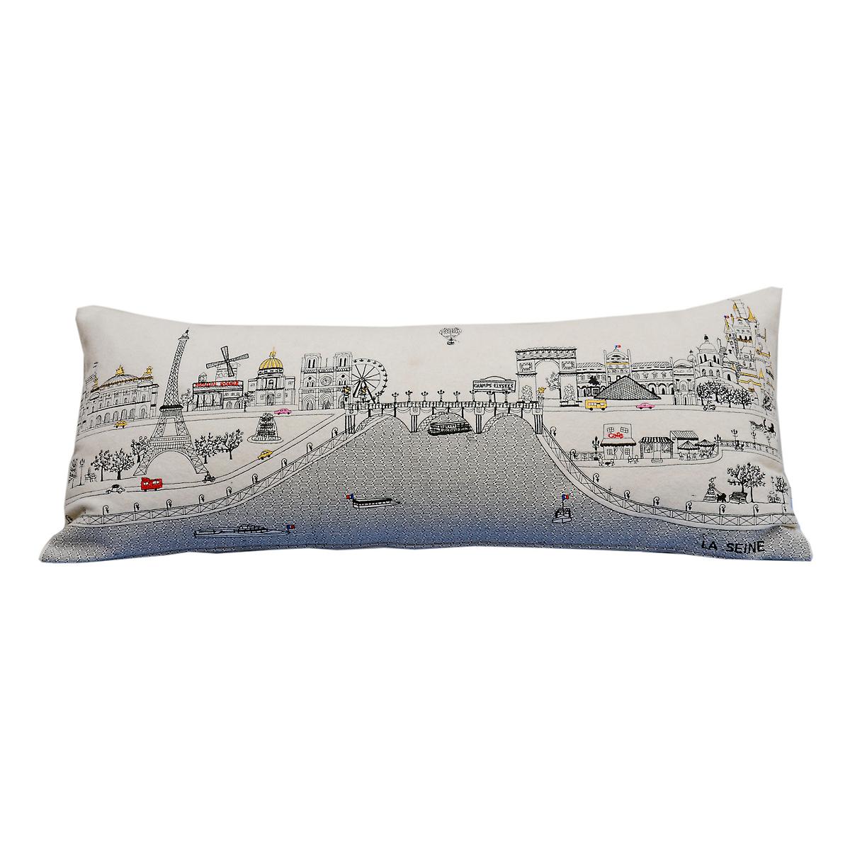 Paris Skyline Pillow