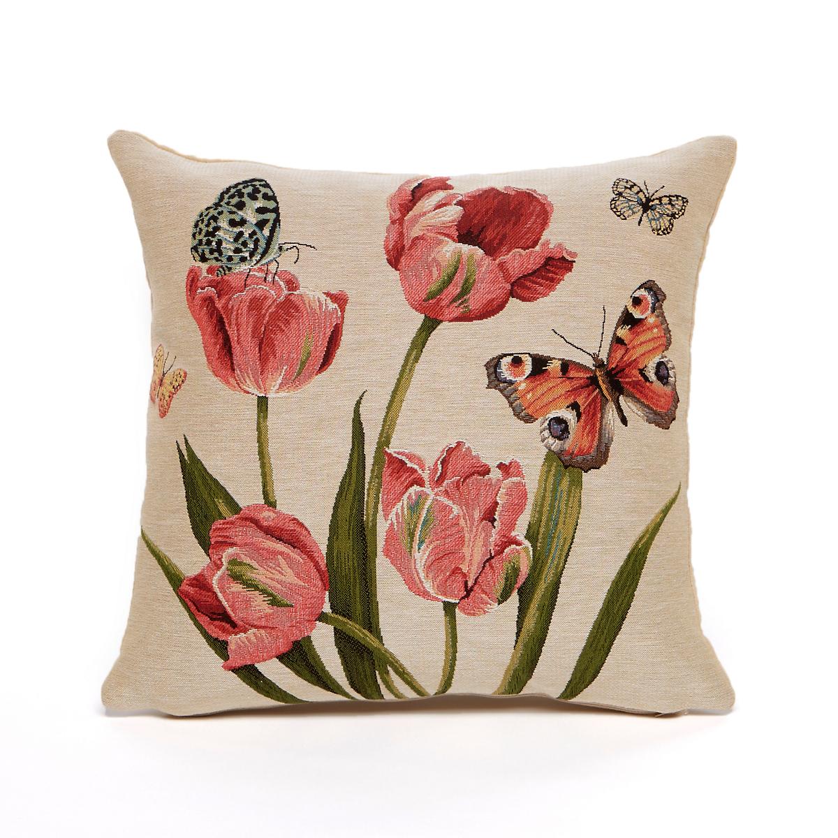 Dutch Garden Tapestry Pillow