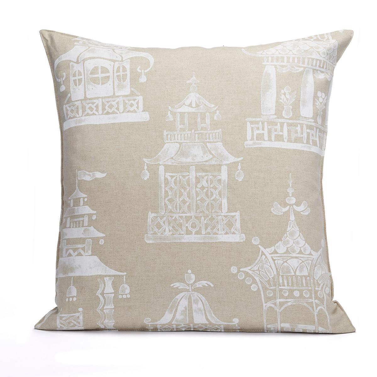 Teahouse Pagoda Pillow