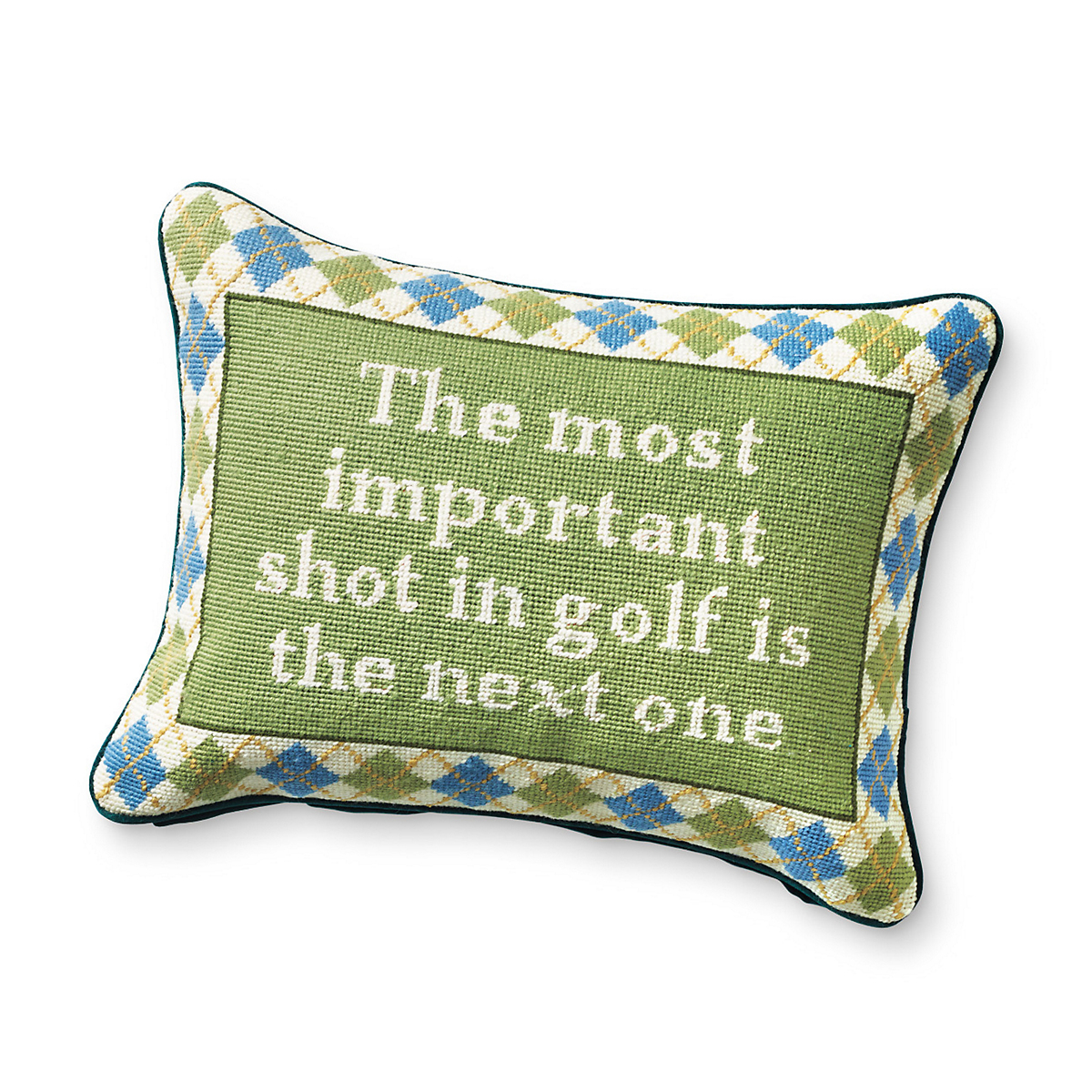 The Most Important Shot Pillow