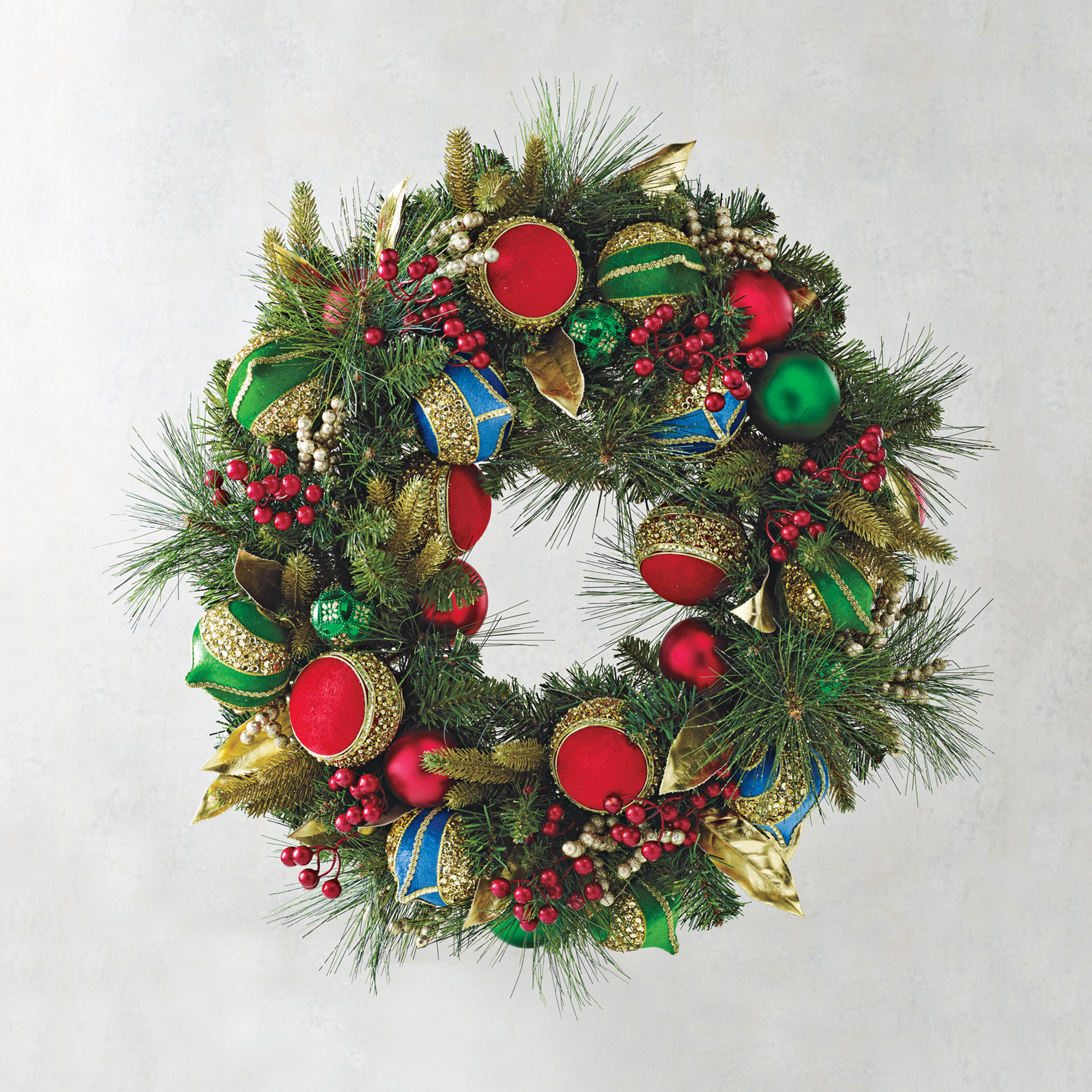 Holiday Festivity Collection Wreath | Gump's