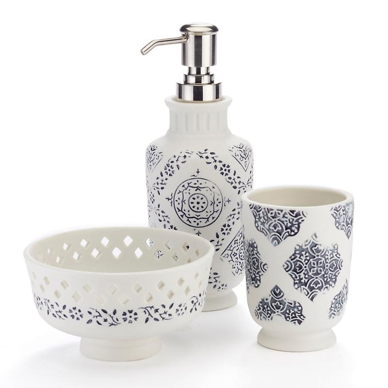john robshaw exotic bath accessories - Bathroom Accessories