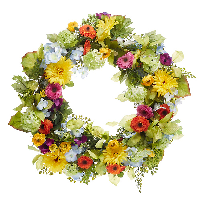 Faux Flower Wreaths for Every Season   Gump\'s San Francisco