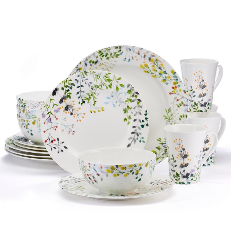 Tivoli Garden Dinnerware 16Pc Setting  sc 1 st  Gumpu0027s & Casual Dinnerware Sets u0026 China for Everyday Use | Gumpu0027s